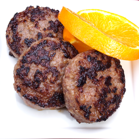 Beef Breakfast Sausages - Original and Green Chile