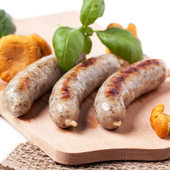 Beef Link Sausages - German, Bratwurst
